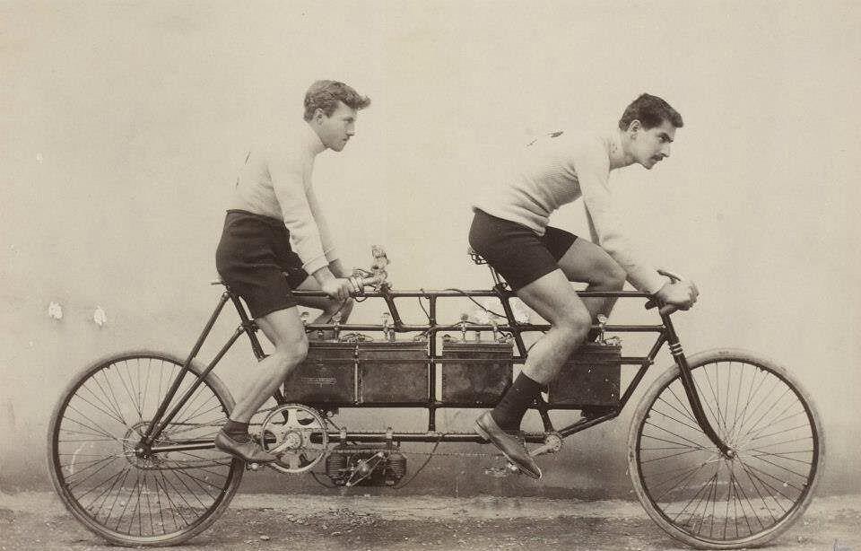 Eerste e-bike Pingault