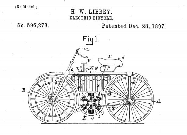 Elektrische fiets patent Libbey