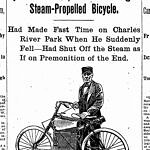 Sylvester Roper steam bicycle