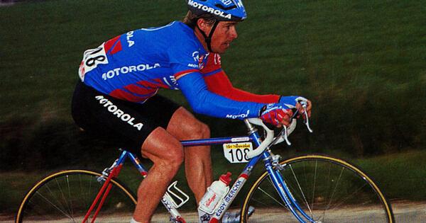 Steve Bauer Parijs-Roubaix