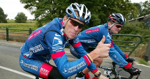 Lance Armstrong Floyd Landis